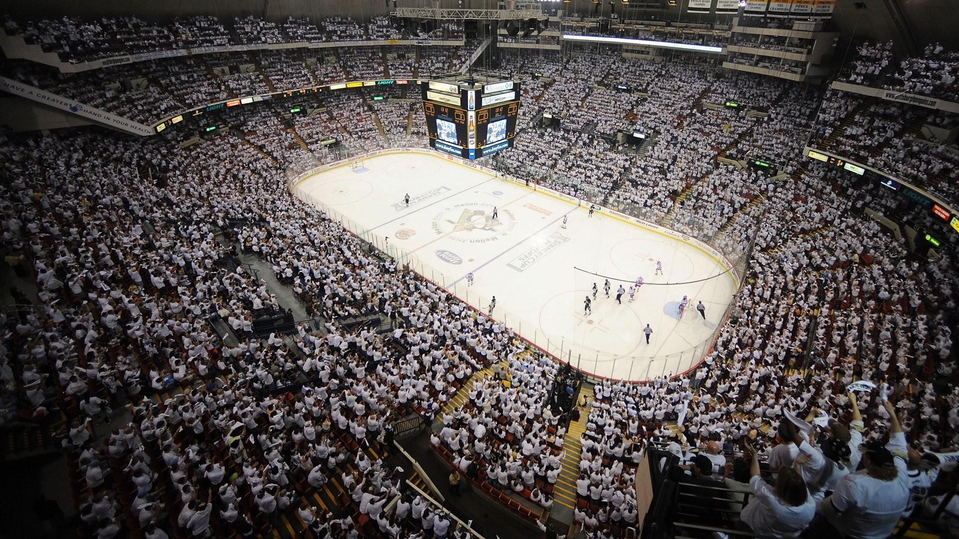 Penguins Nhl Wallpaper - Pittsburgh Penguins Old Arena , HD Wallpaper & Backgrounds