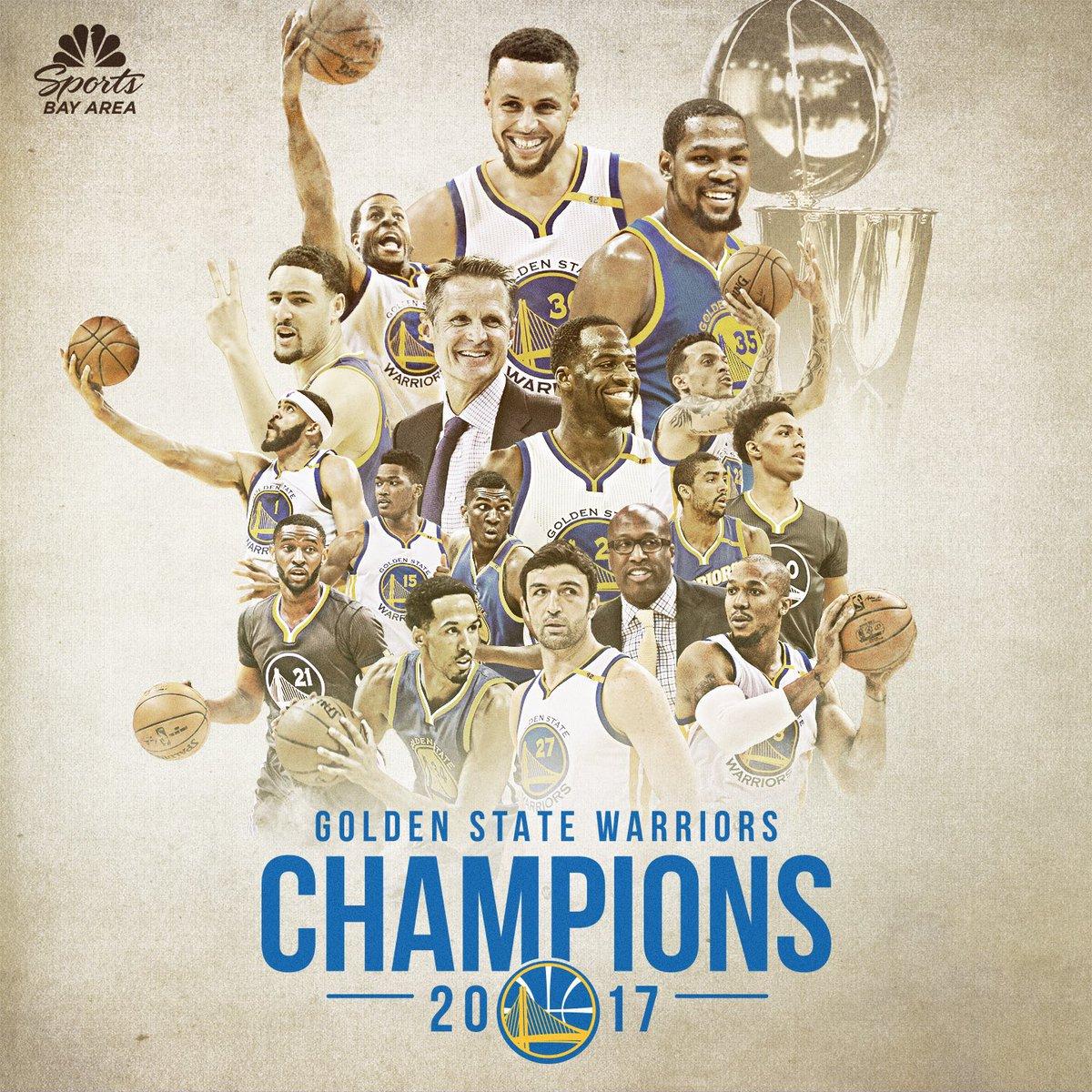 Golden State Warriors 2017 Champions 2621226 Hd Wallpaper