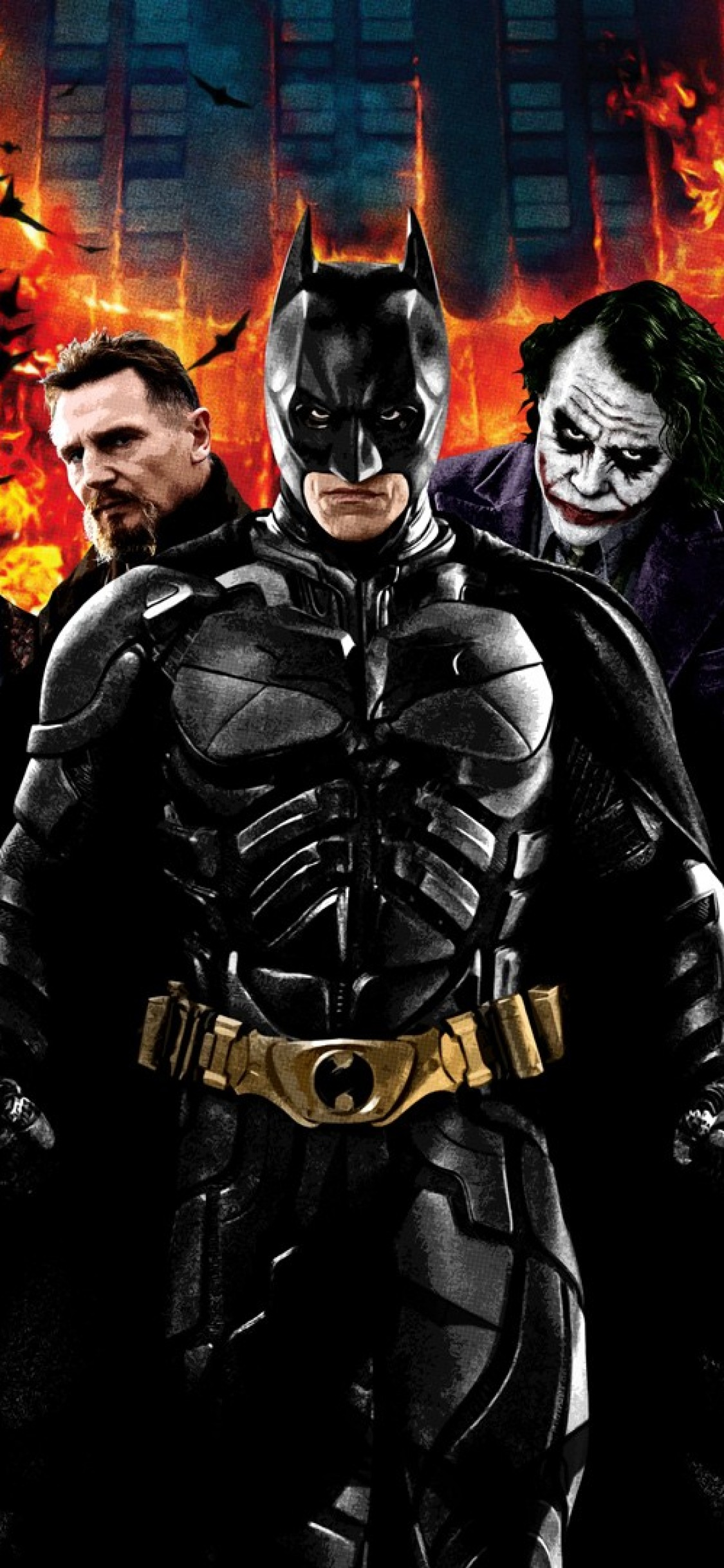 Iphone X Christian Bale Wallpaper Dark Knight Trilogy 2621576