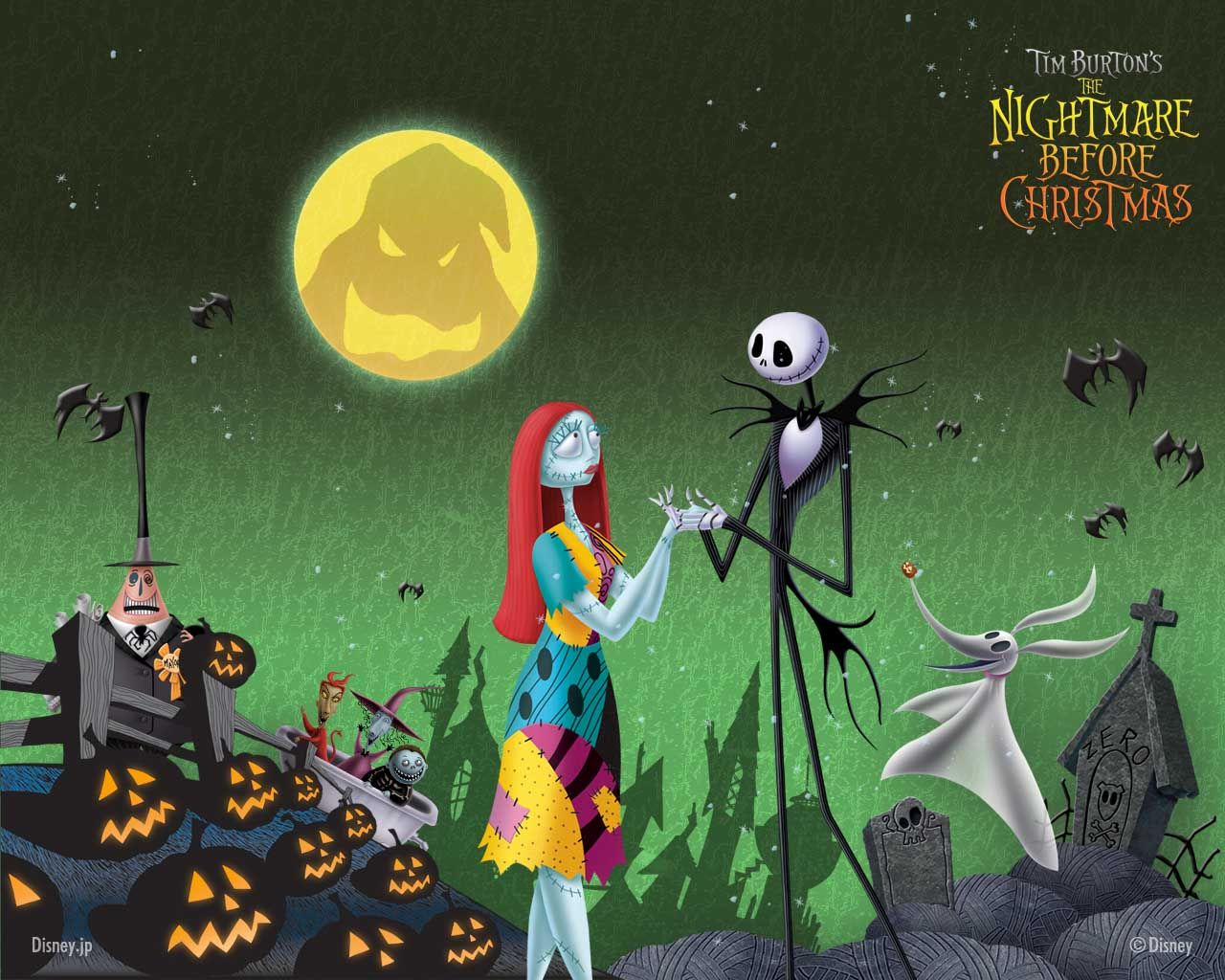 The Nightmare Before Christmas Wallpapers Top Free Nightmare