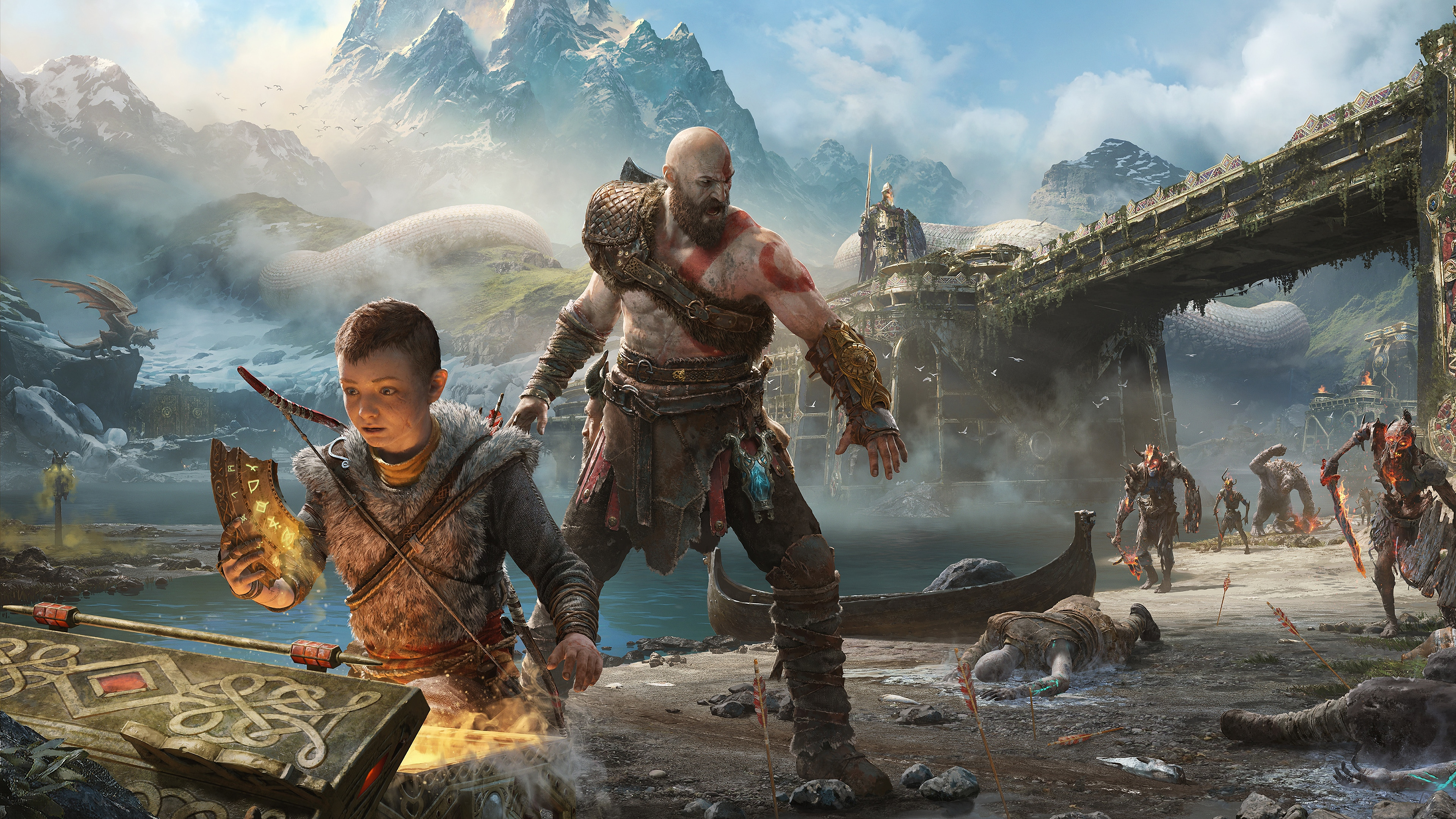 Godofwar God Of War 4 4k 271094 Hd Wallpaper