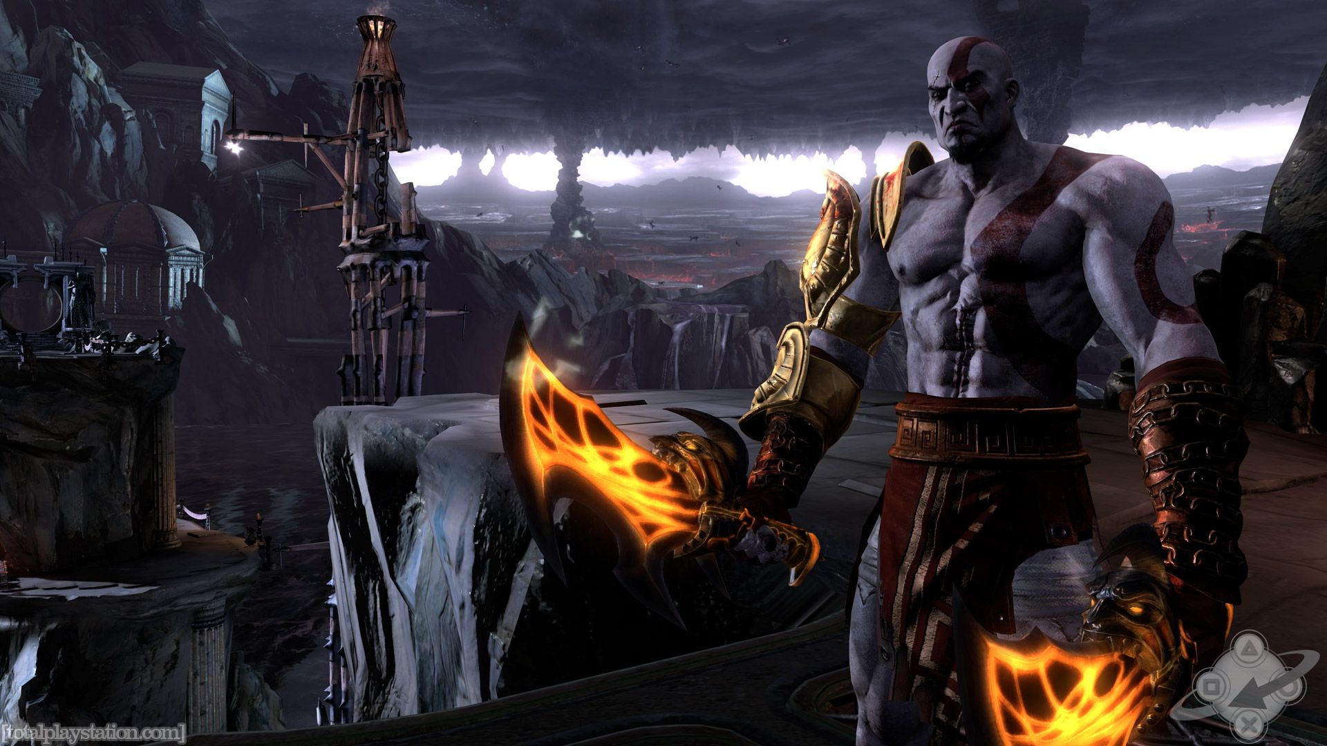 God War Wallpaper Desktop Godofwar3 Media Wallpapers God Of War