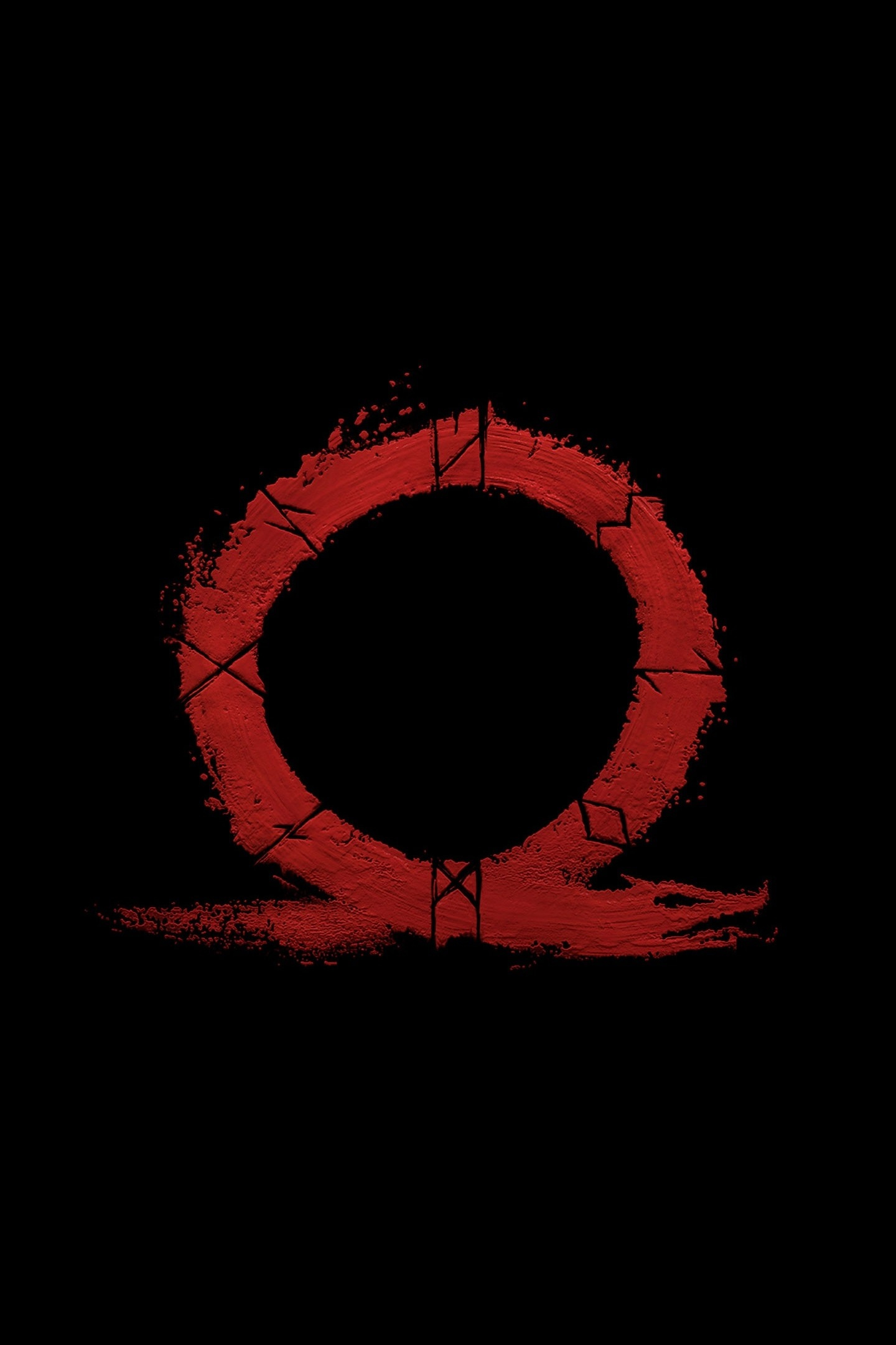 God Of War, Omega, Logo, Video Game, Minimal, Wallpaper - God Of War Omega , HD Wallpaper & Backgrounds