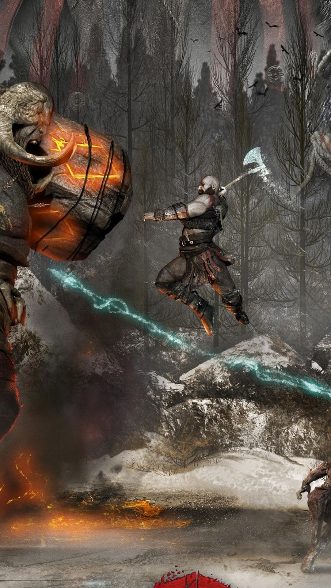 God Of War Wallpaper For Iphone God Of War Wallpaper Phone