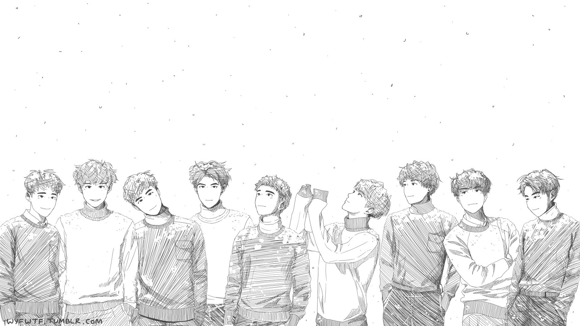 As Long Exo Wallpaper For Laptop Tumblr Desktop Hd Exo