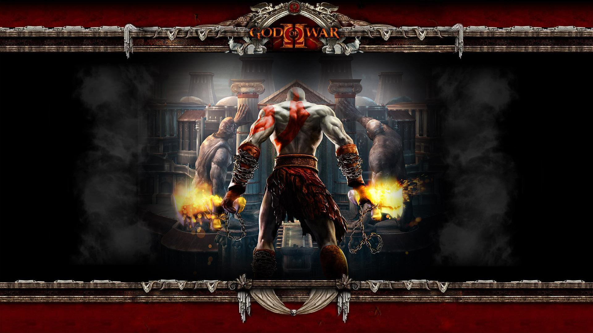 God Of War Ii Hd Wallpaper Kratos God Of War 2 272166
