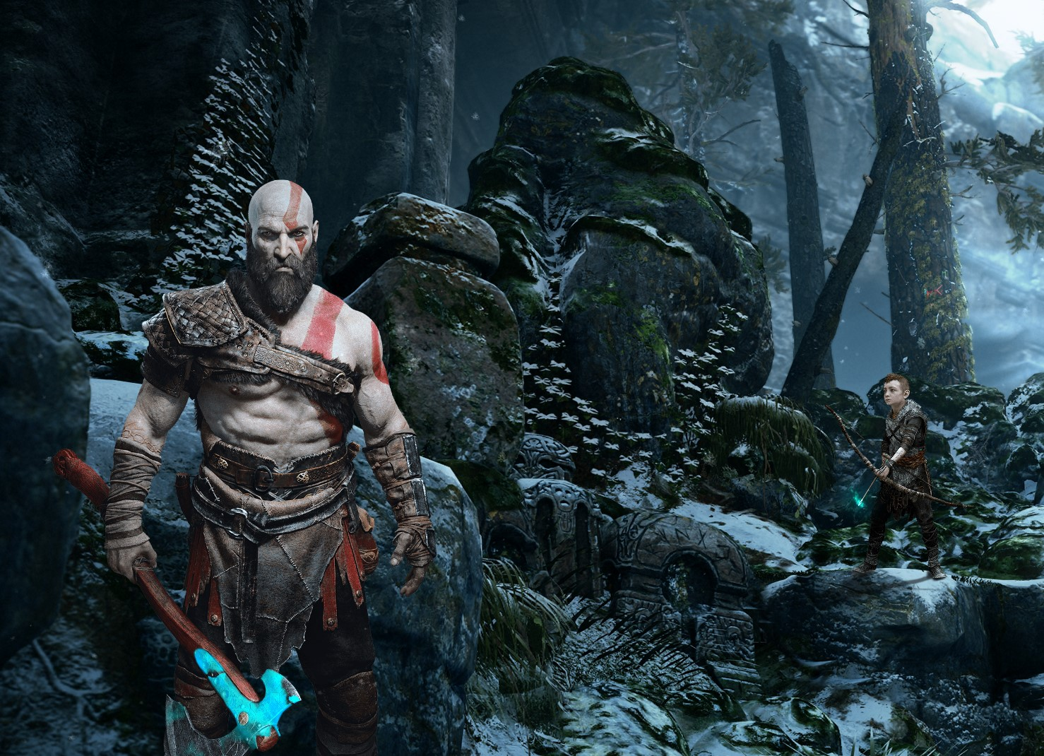 God Of War Live Wallpaper God Of War 4 Wallpaper Kratos