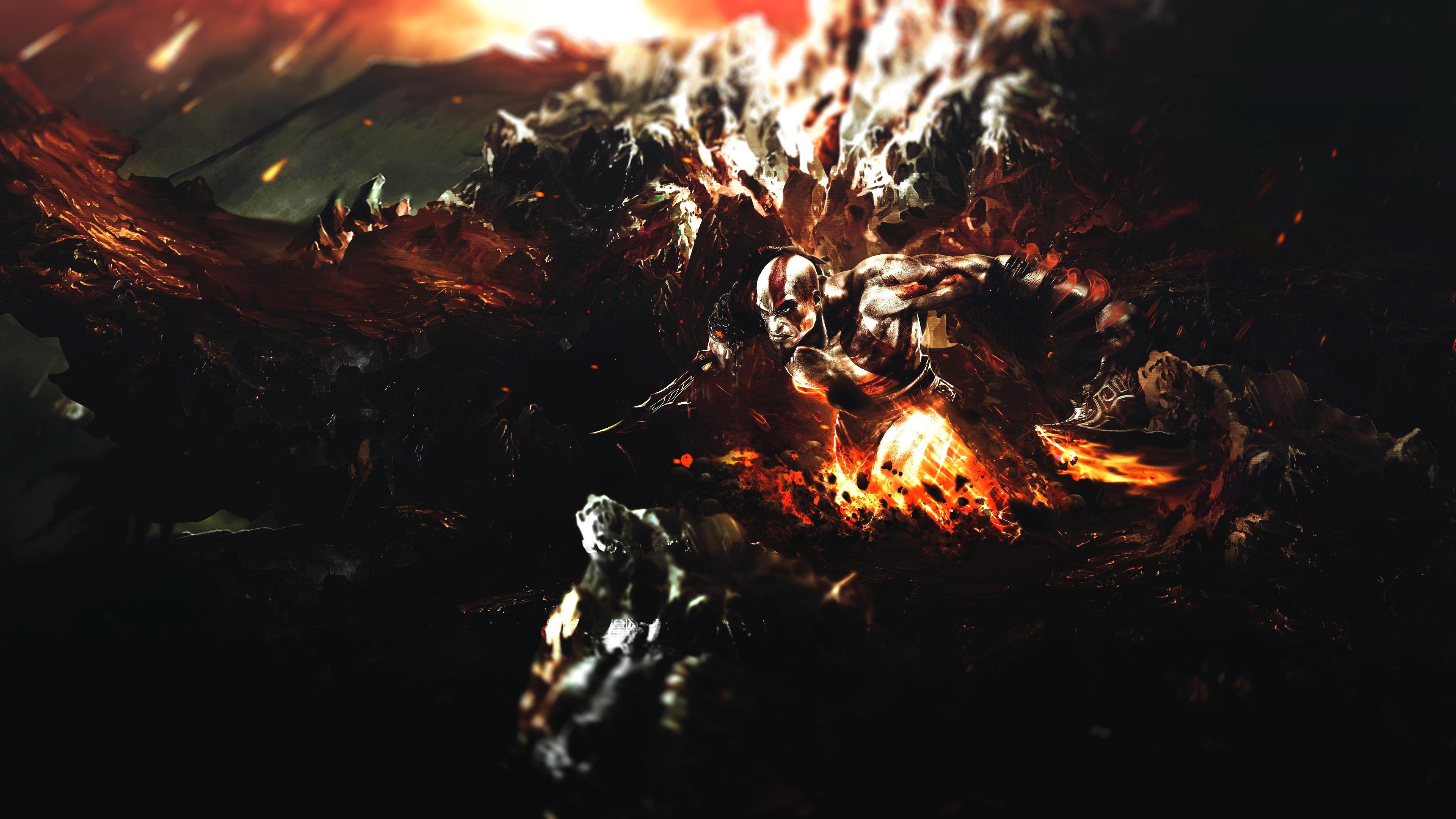 Free Download God Of War Background Id God Of War 3