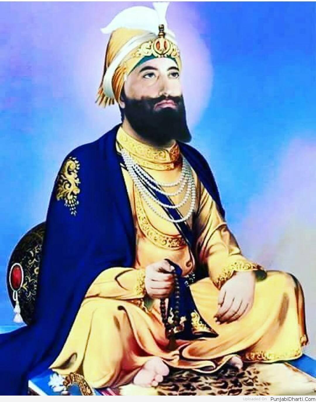 Guru Gobind Singh Ji - Guru Gobind Singh Ji Sit , HD Wallpaper & Backgrounds