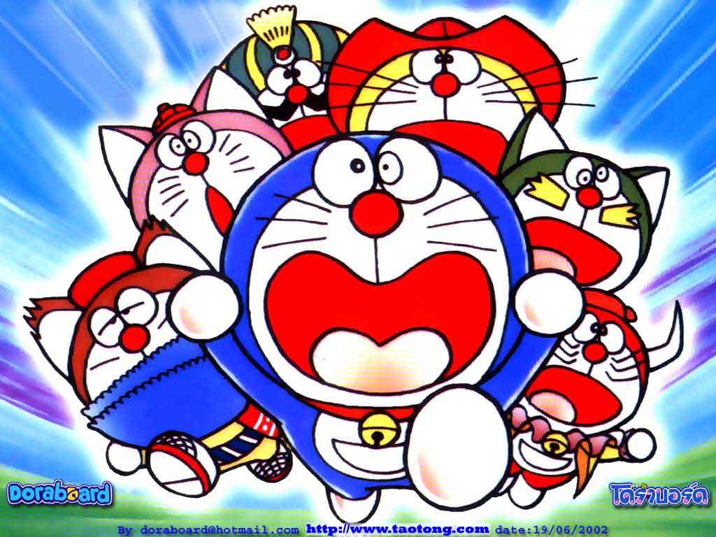 Doraemon Wallpaper - Gambar Doraemon Yg Paling Keren , HD Wallpaper & Backgrounds