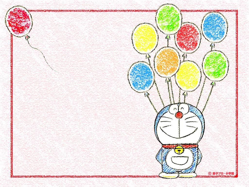 Background Animasi Doraemon Background Ppt Doraemon