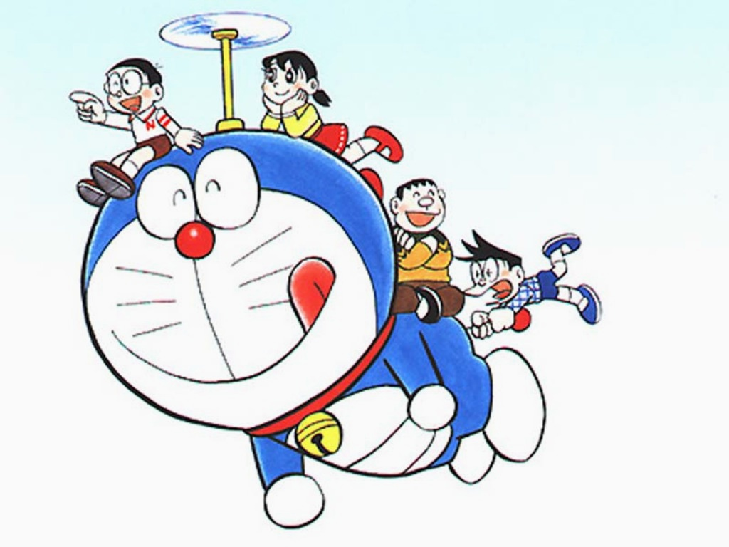 Wallpaper Doraemon Hd Keren Deloiz Wallpaper Doraemon