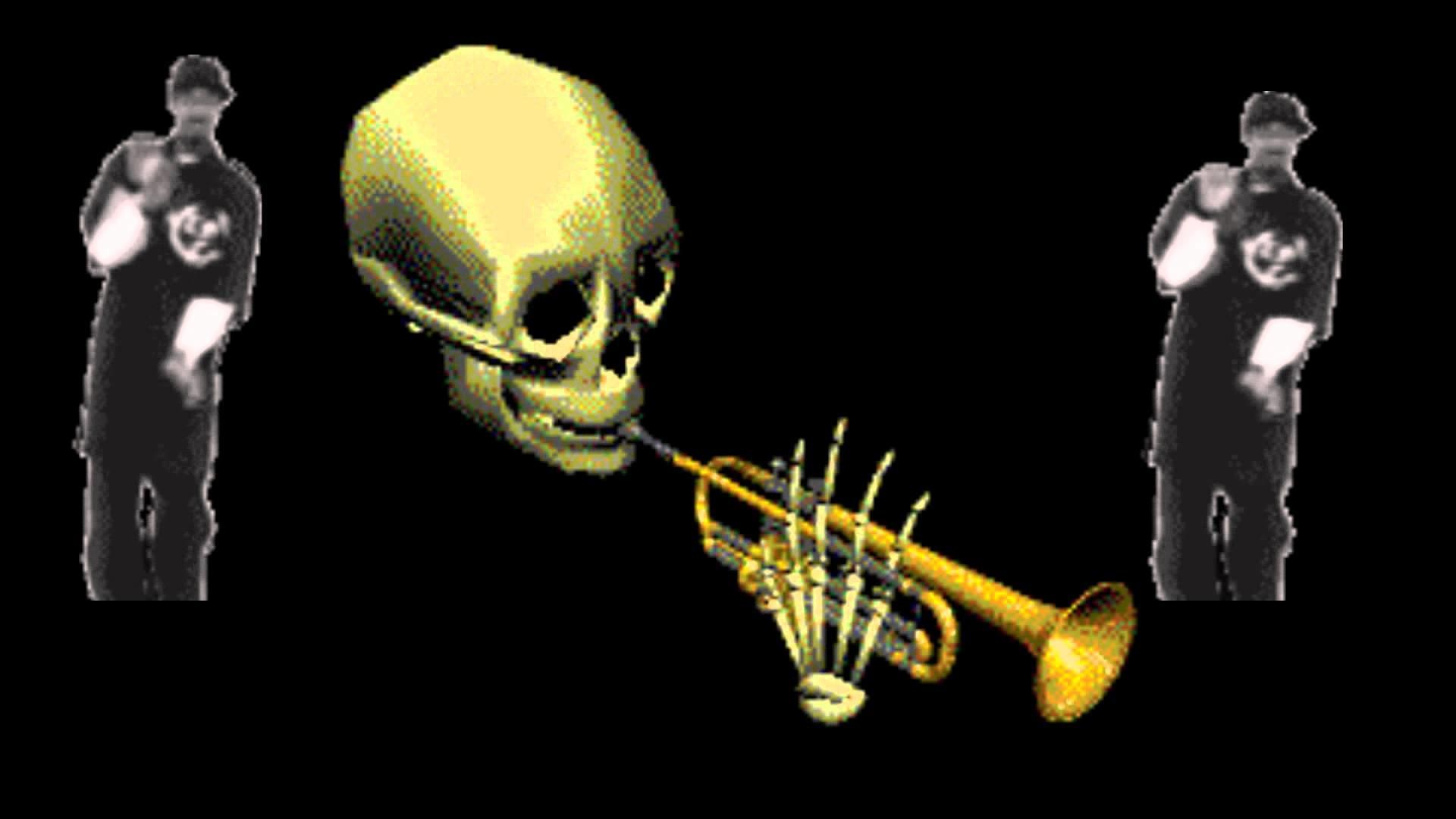 Dank Meme Wallpaper Full Hd - Spooky Skeleton , HD Wallpaper & Backgrounds