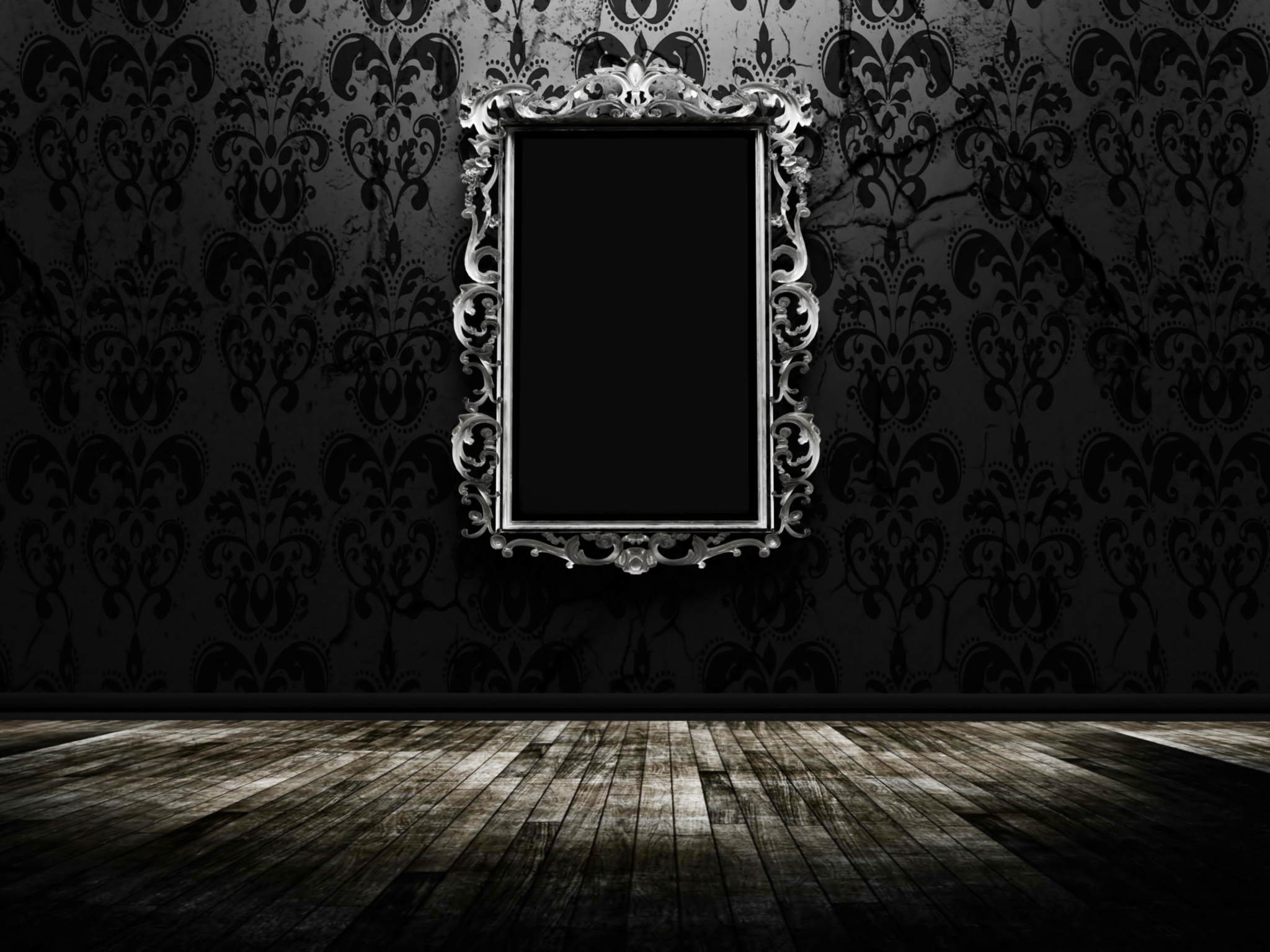 Mirror Wallpaper - Dark Background With Mirror (#279461) - HD ...