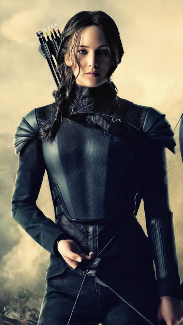 Part 2, Movie, Jennifer Lawrence - Mockingjay Part 2 Katniss , HD Wallpaper & Backgrounds