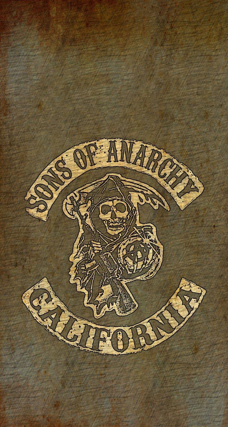 Sons Of Anarchy Wallpaper For Iphone 5 Sons Of Anarchy Logo