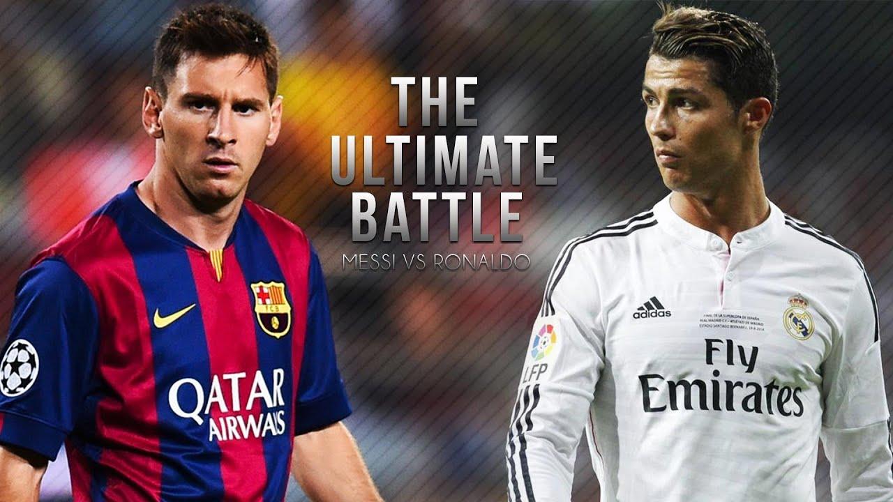 Messi And Ronaldo Wallpaper Picserio - Messi 2015 Vs Ronaldo , HD Wallpaper & Backgrounds