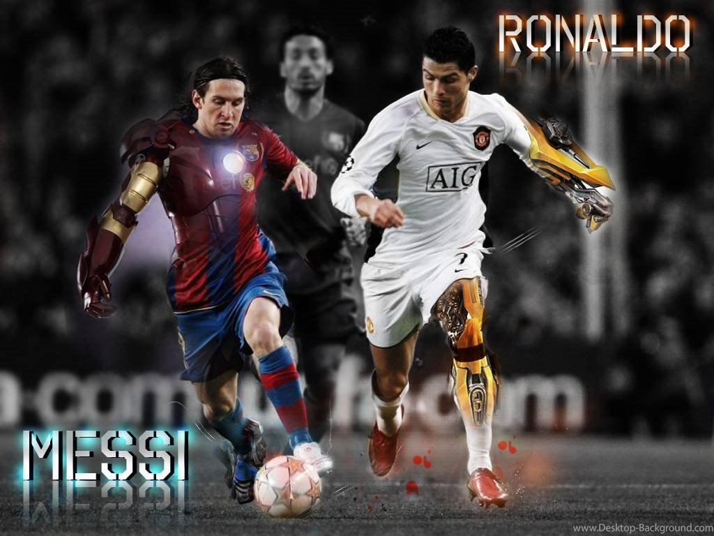 Messi And Ronaldo 2009 , HD Wallpaper & Backgrounds