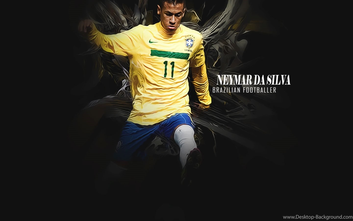 Widescreen - Neymar Da Silva , HD Wallpaper & Backgrounds