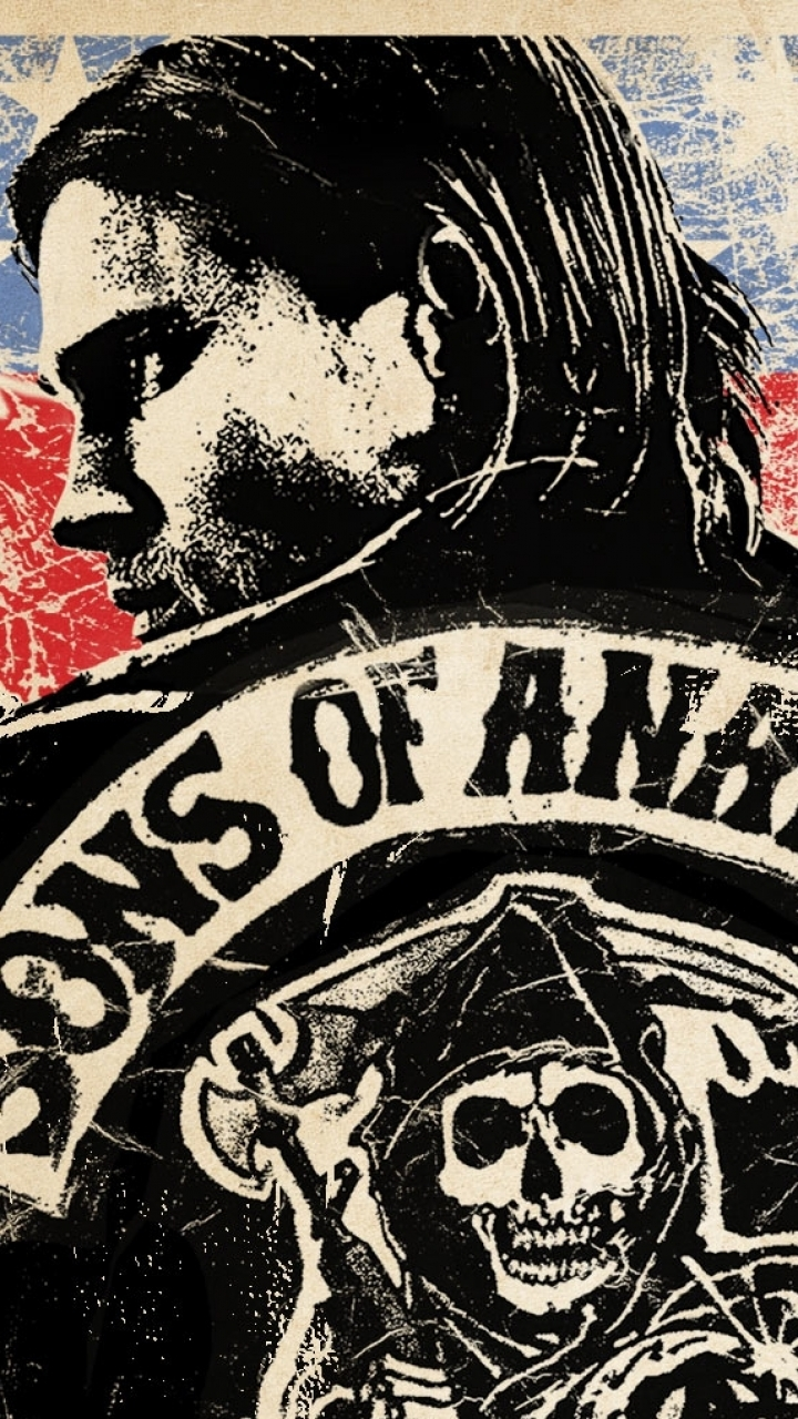 10063 Sons Of Anarchy Wallpaper For Iphone 5 720 X Sons Of