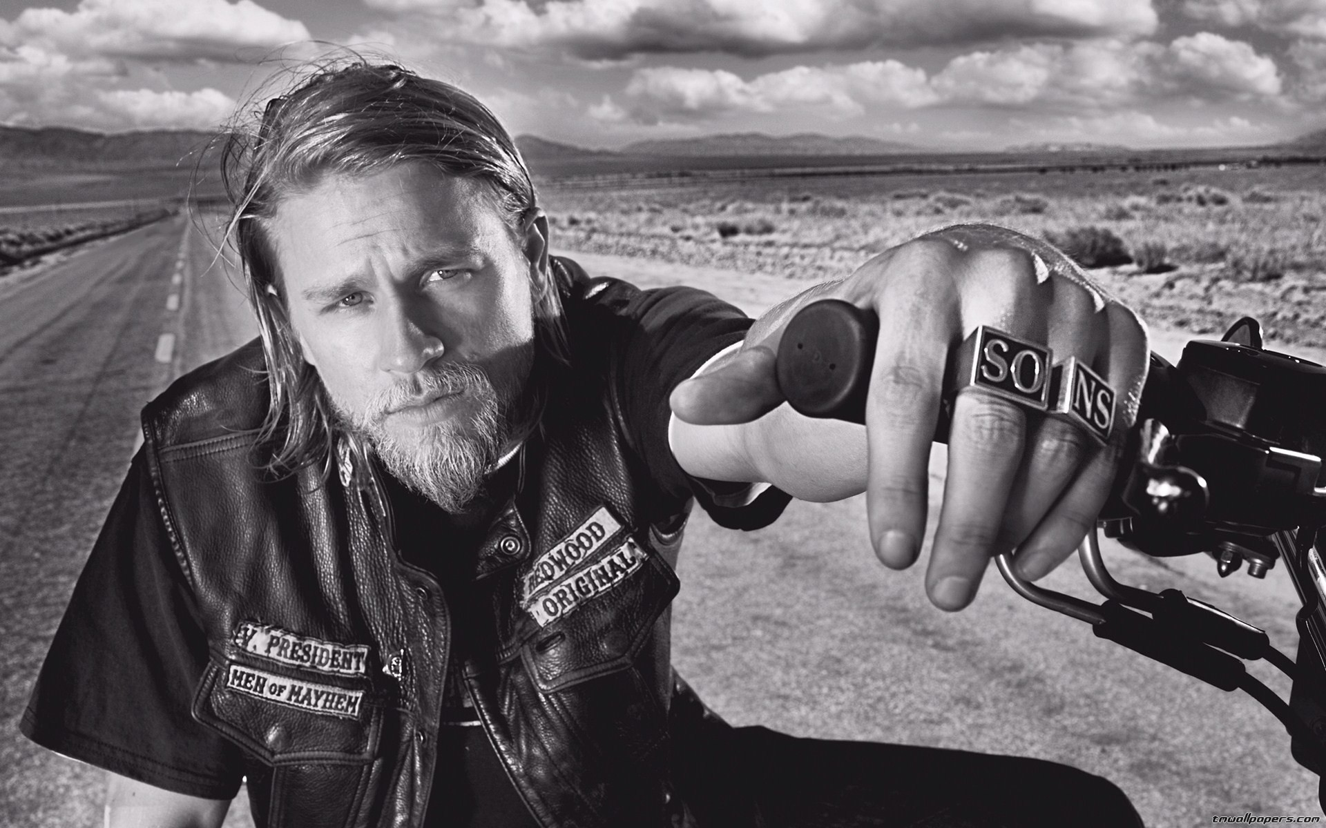 Sons Of Anarchy Wallpaper 1440x900 Px, - Season 4 Sons Of Anarchy Jax , HD Wallpaper & Backgrounds