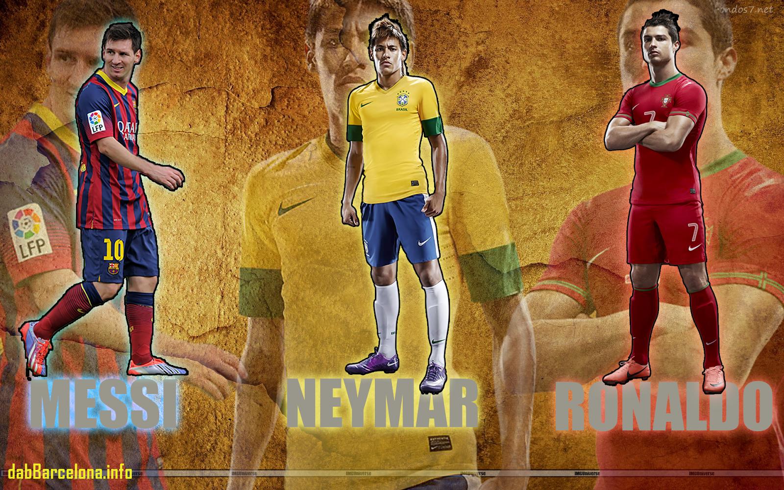 Messi - Ronaldo Vs Messi Vs Neymar Wallpaper 2018 , HD Wallpaper & Backgrounds