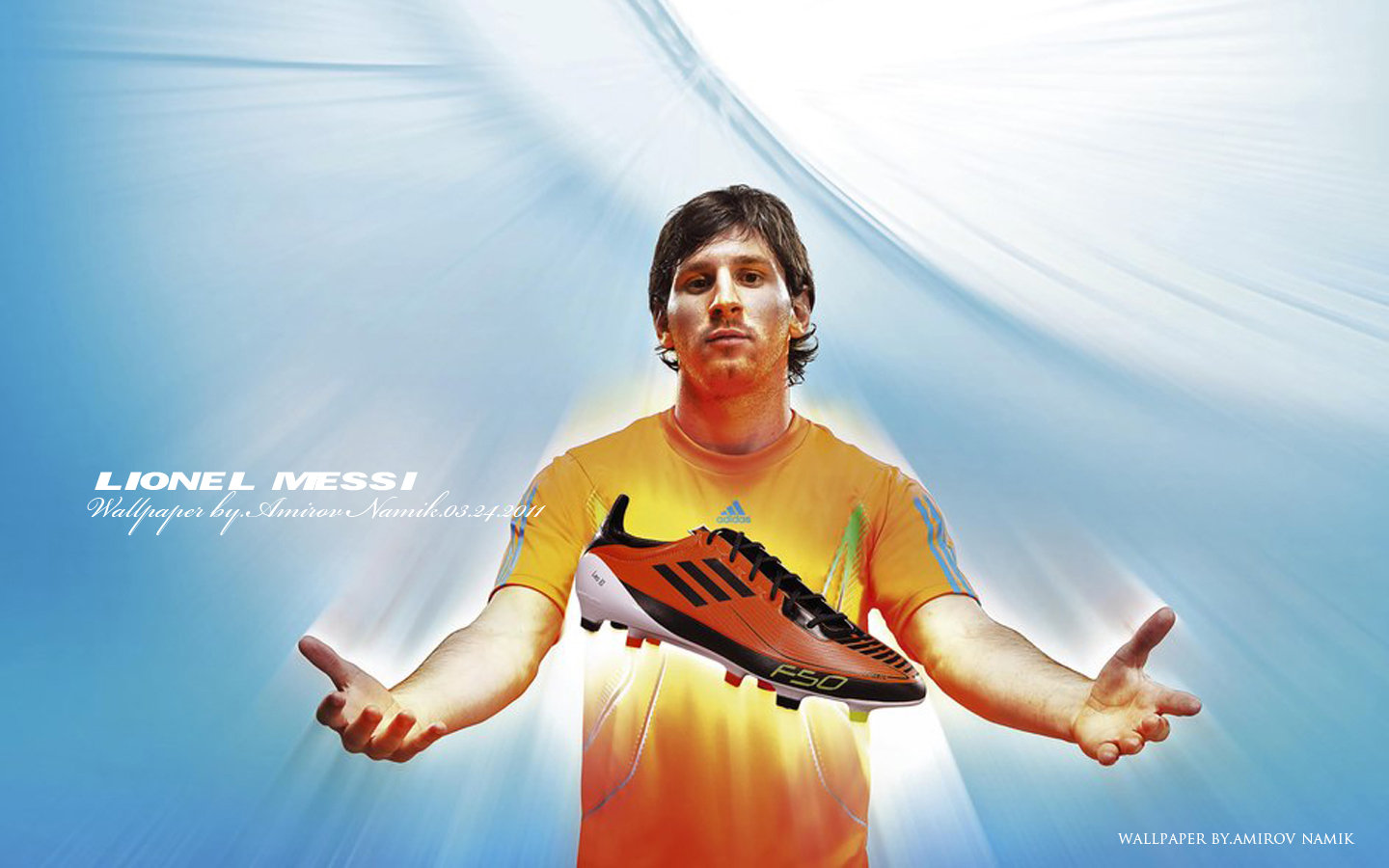 Lionel Messi Adidas , HD Wallpaper & Backgrounds
