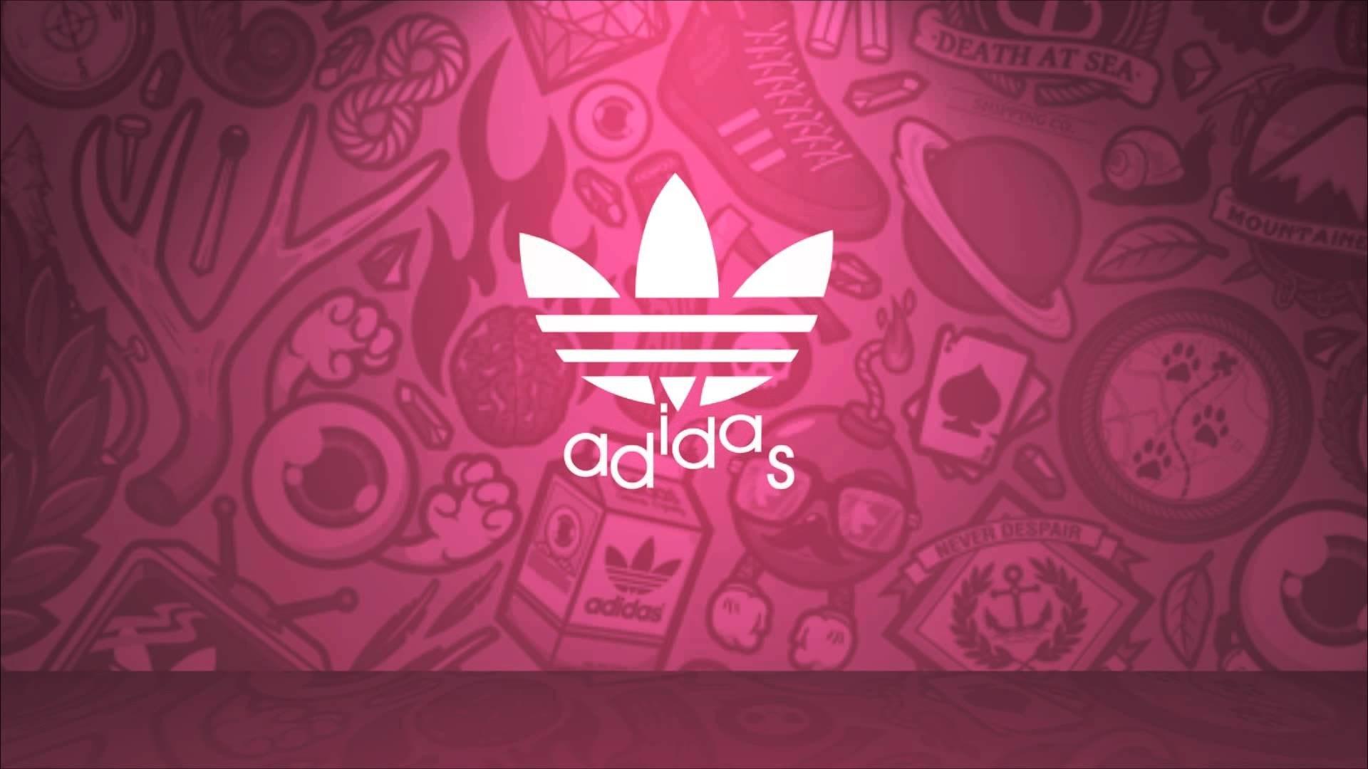 Adidas Pink Wallpaper Desktop , HD Wallpaper & Backgrounds