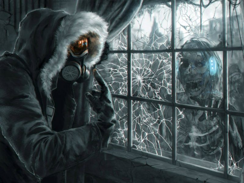 Scary Gas Mask Wallpaper 2 Scary Creepy Ingram Books