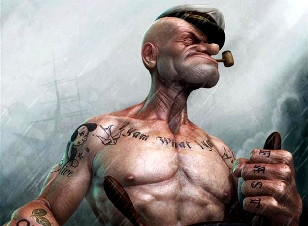 Popeye Wallpaper And Background Image Id326689 Yam What I Yam