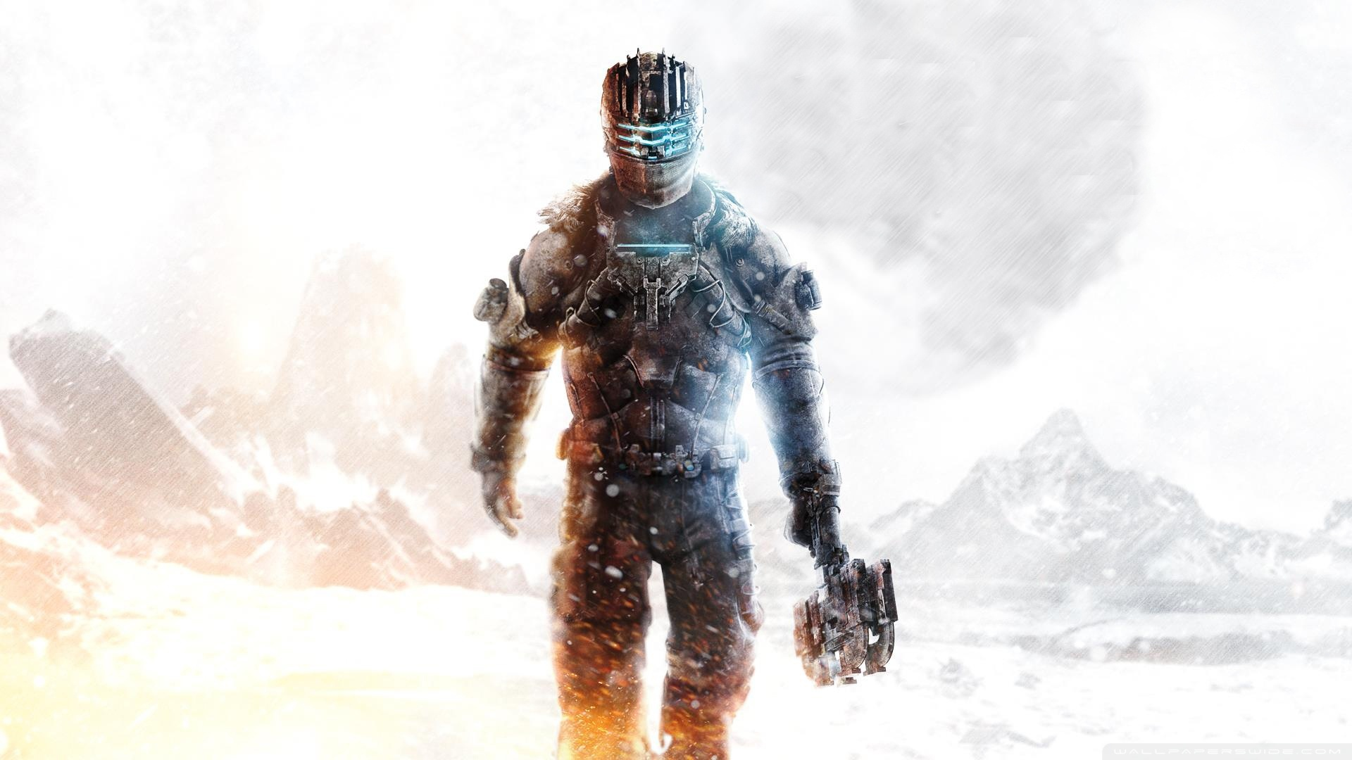 Dead Space 3 Isaac Hd Wide Wallpaper For 4k Uhd Widescreen - Dead Space 3 , HD Wallpaper & Backgrounds