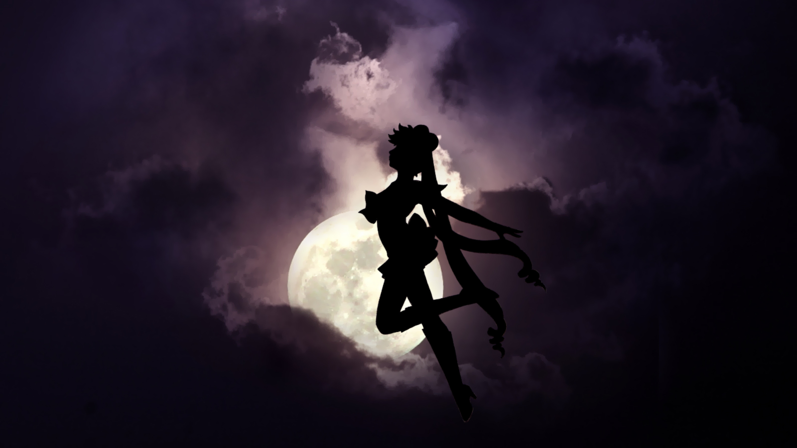 Sailor Moon Wallpaper Black , HD Wallpaper & Backgrounds