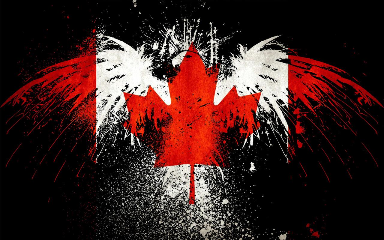 Canada Eagle Flag Wallpaper Awesome Canadian Flag 284006