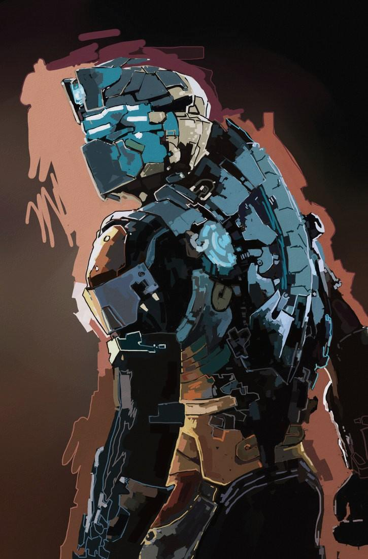Dead Space Wallpapers For Iphone - Dead Space Engineer Armor , HD Wallpaper & Backgrounds