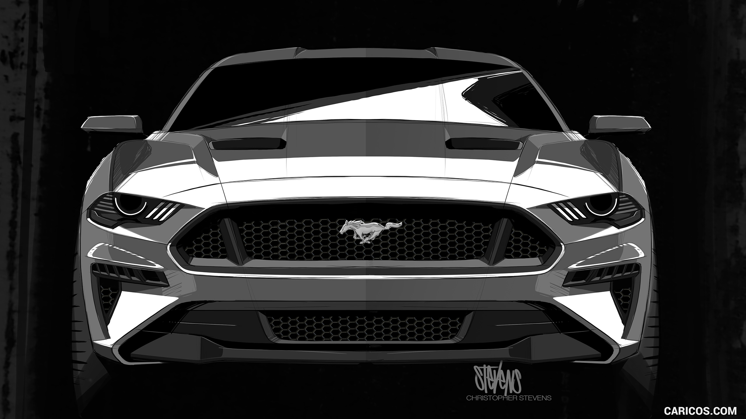 Ford Black Ford Mustang 2018 285215 Hd Wallpaper Backgrounds Download
