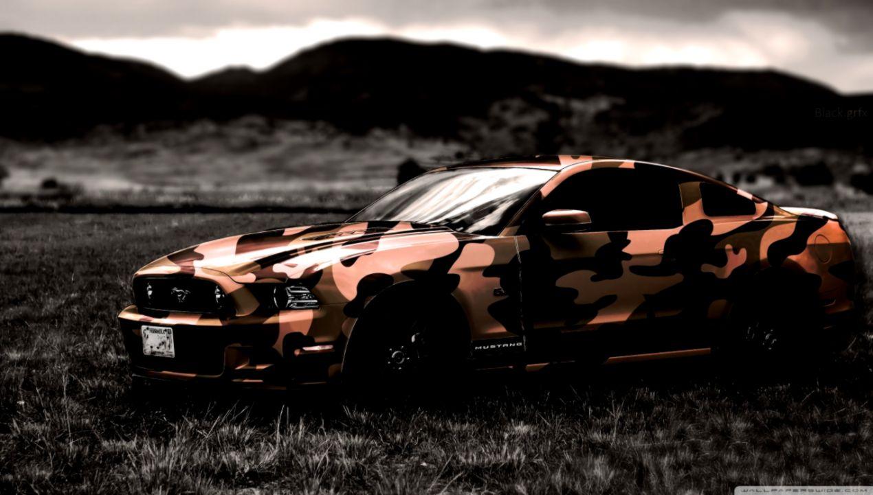 Ford Mustang 4k Hd Desktop Wallpaper For 4k Ultra Ultra