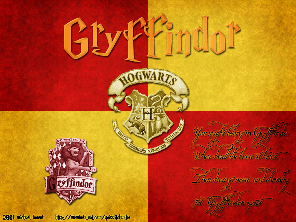 Harry Potter Gryffindor Characters Wallpaper Gryffindor