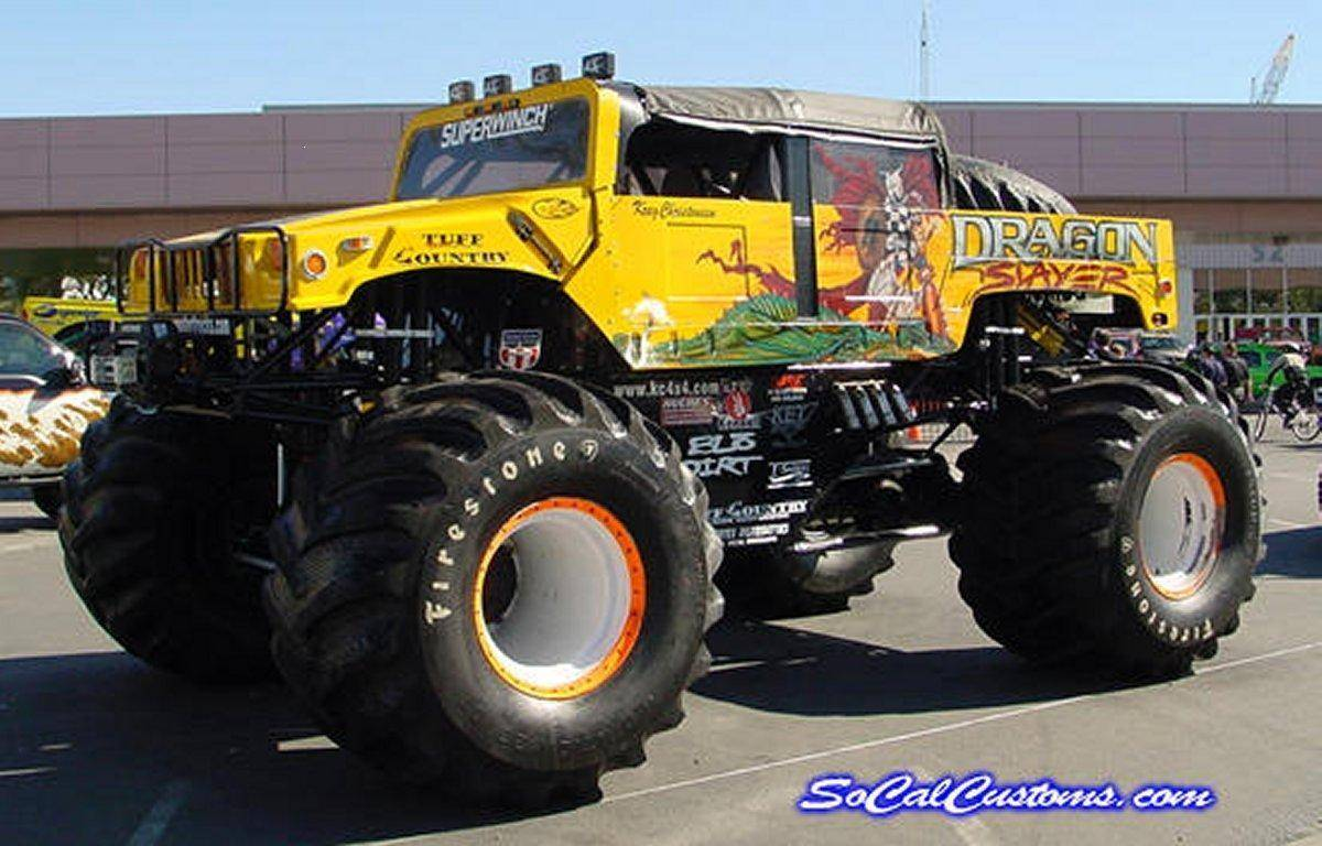 Fotos Hummer Monster Truck Wallpaper De Todo Un Poco - Hummer Monster Truck , HD Wallpaper & Backgrounds