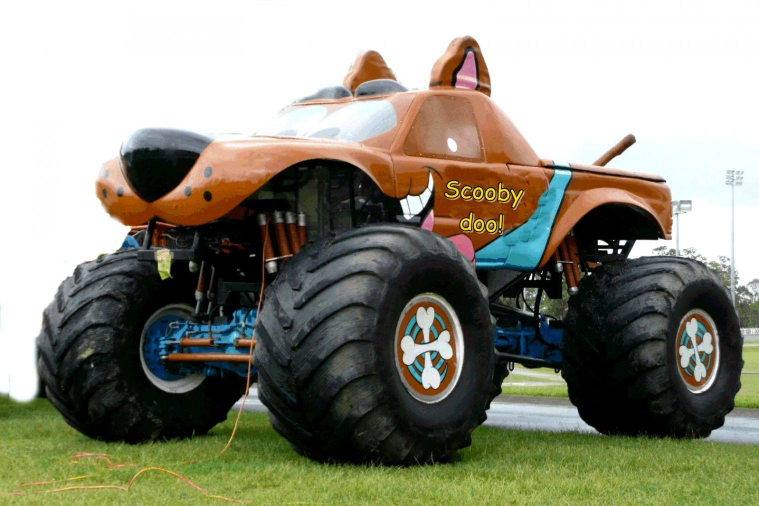 View Original Size - Funny Monster Trucks , HD Wallpaper & Backgrounds