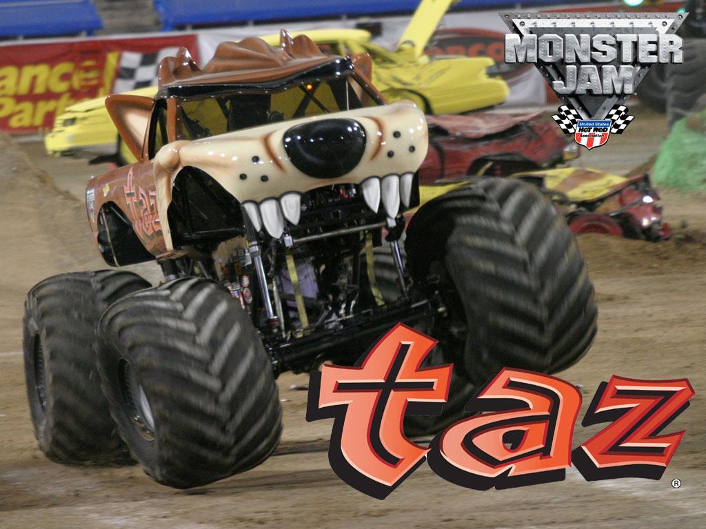 Taz Monster Truck Wallpaper Kcic - Monster Jam , HD Wallpaper & Backgrounds
