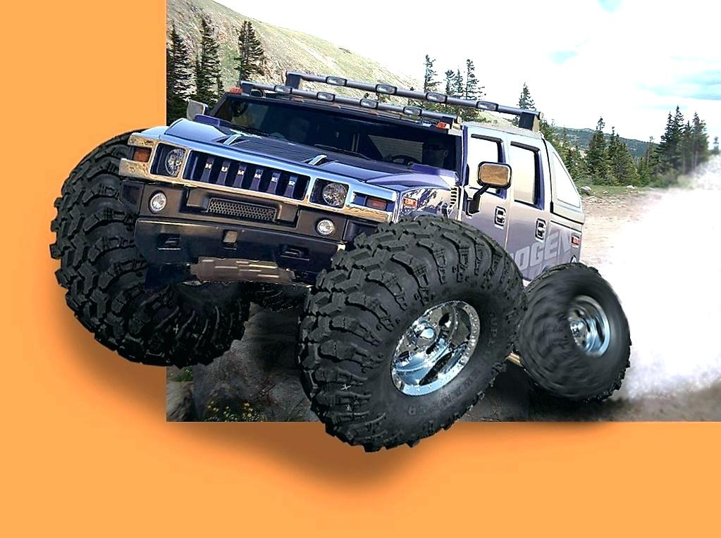 Monster Truck Wallpapers Monster Truck Wallpapers Hummer - Jeep Wrangler , HD Wallpaper & Backgrounds