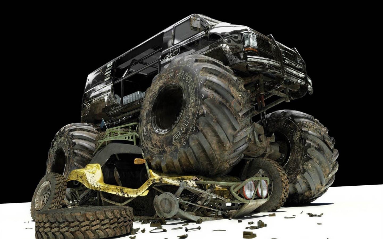 Monster Truck Wallpaper Hd - Monster Truck Full Hd , HD Wallpaper & Backgrounds