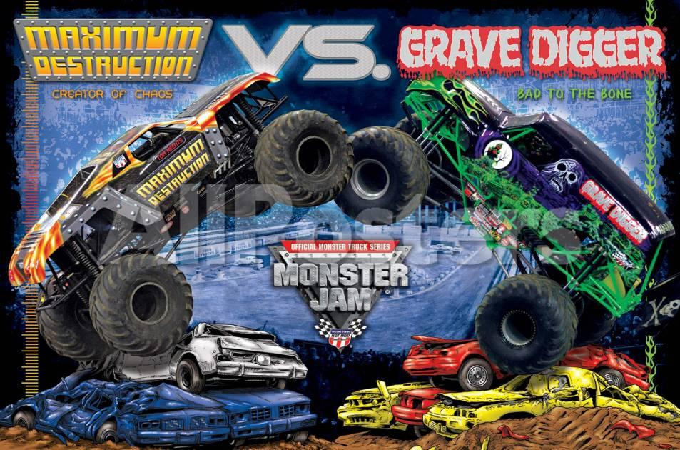 Grave Digger Monster Truck Wallpaper Monster Jam Grave Digger 287058 Hd Wallpaper Backgrounds Download