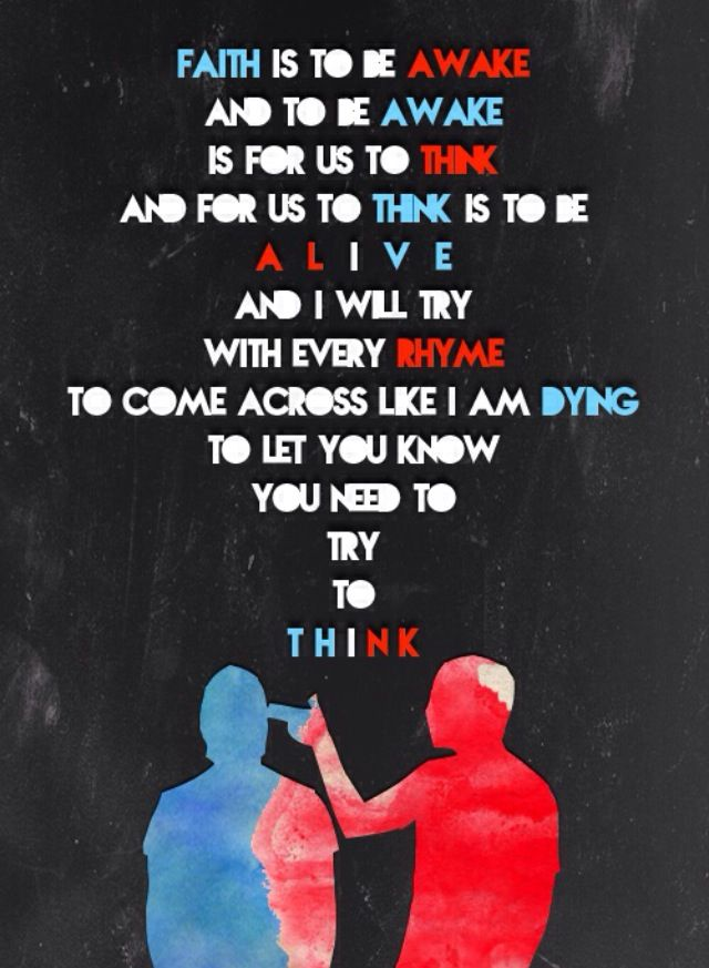 Twenty One Pilots Lyric Poster 287127 Hd Wallpaper