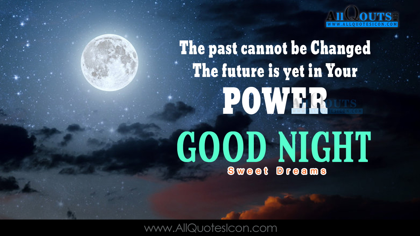 Good Night Wallpapers English Quotes Wishes For Whatsapp - Good Night English Quotes , HD Wallpaper & Backgrounds