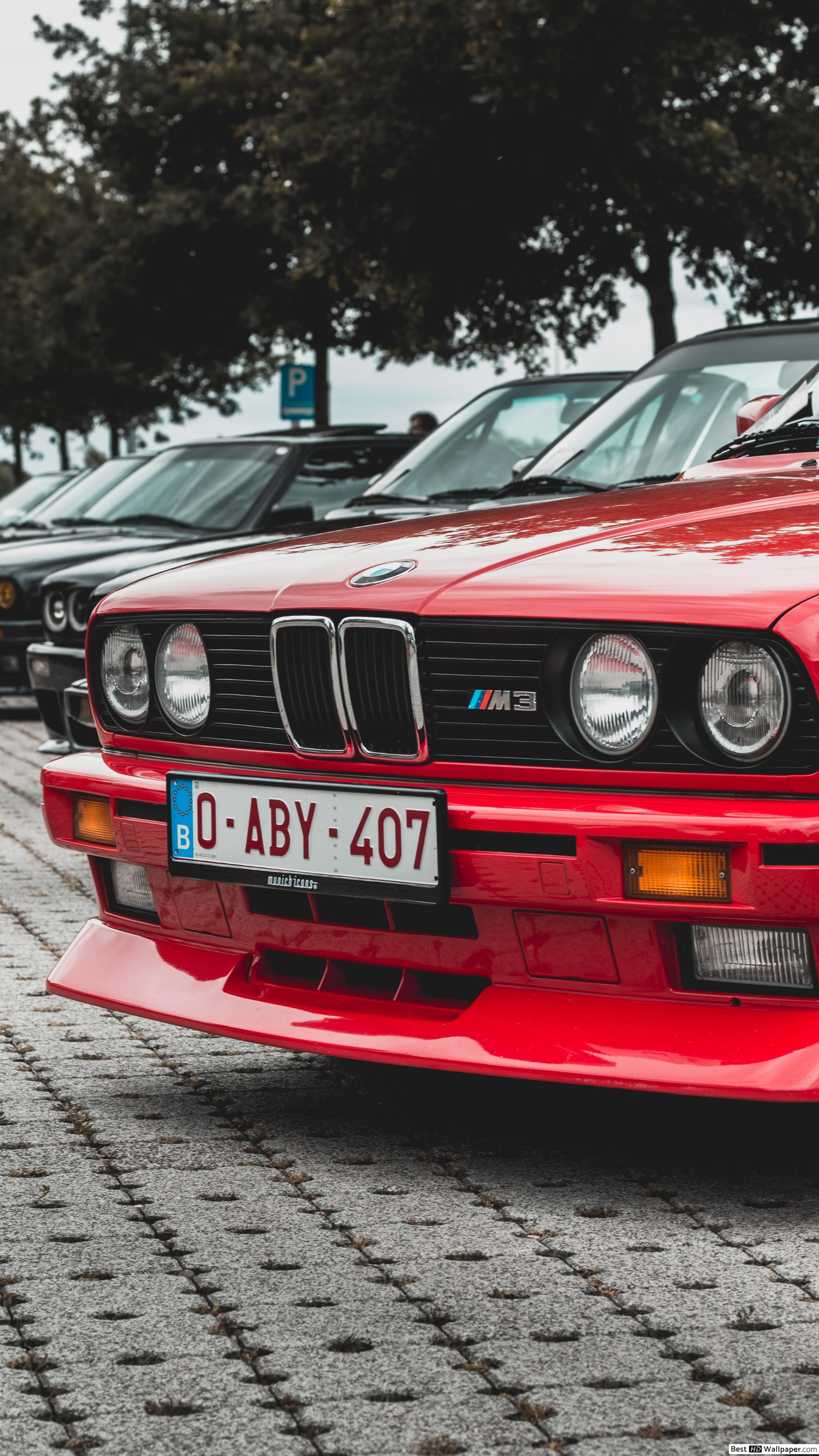 Bmw E30 Red 2836430 Hd Wallpaper Backgrounds Download