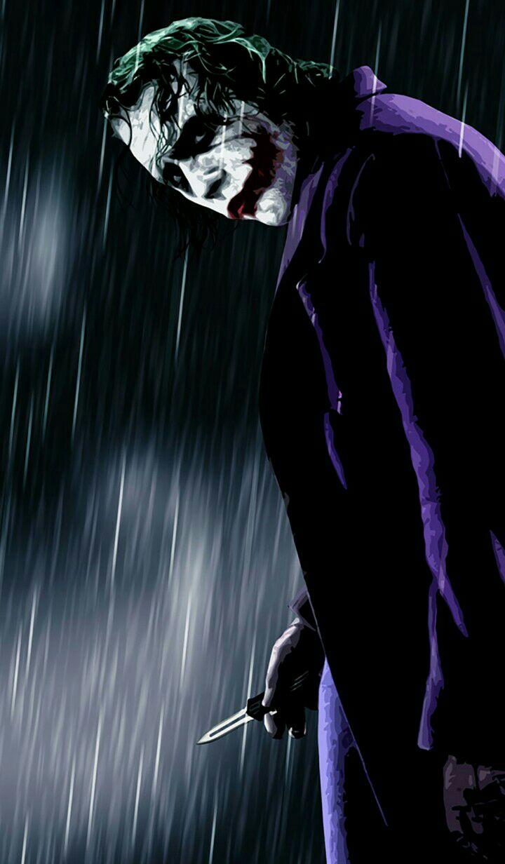 Gambar Wallpaper Joker Keren - Dark Knight Joker Wallpaper Iphone , HD Wallpaper & Backgrounds