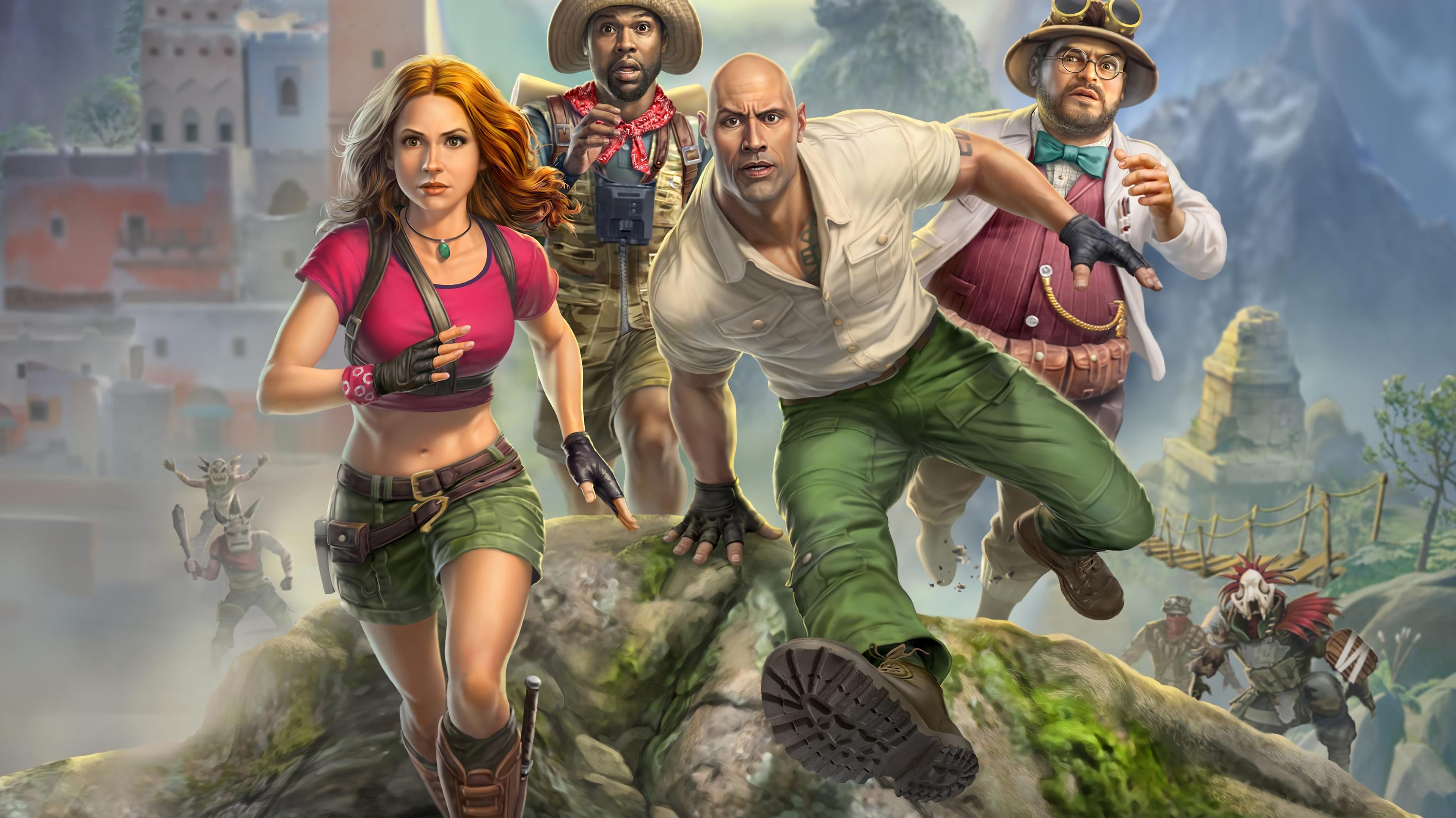 Jumanji The Video Game , HD Wallpaper & Backgrounds