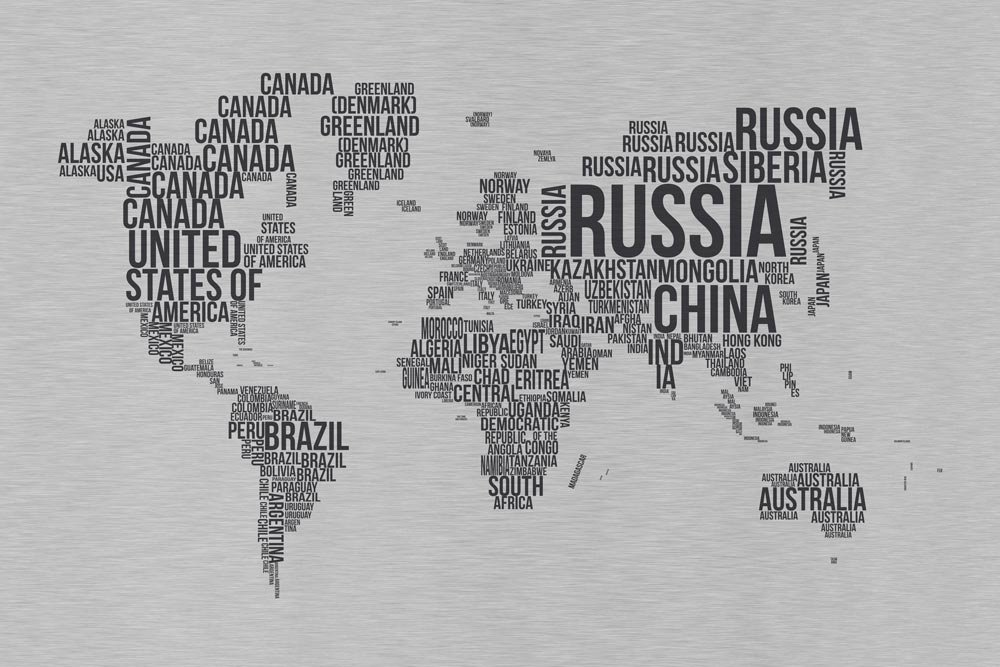 World Map Wallpaper, Textography World Map Wallpaper - World Map Wallpaper For Office Wall , HD Wallpaper & Backgrounds