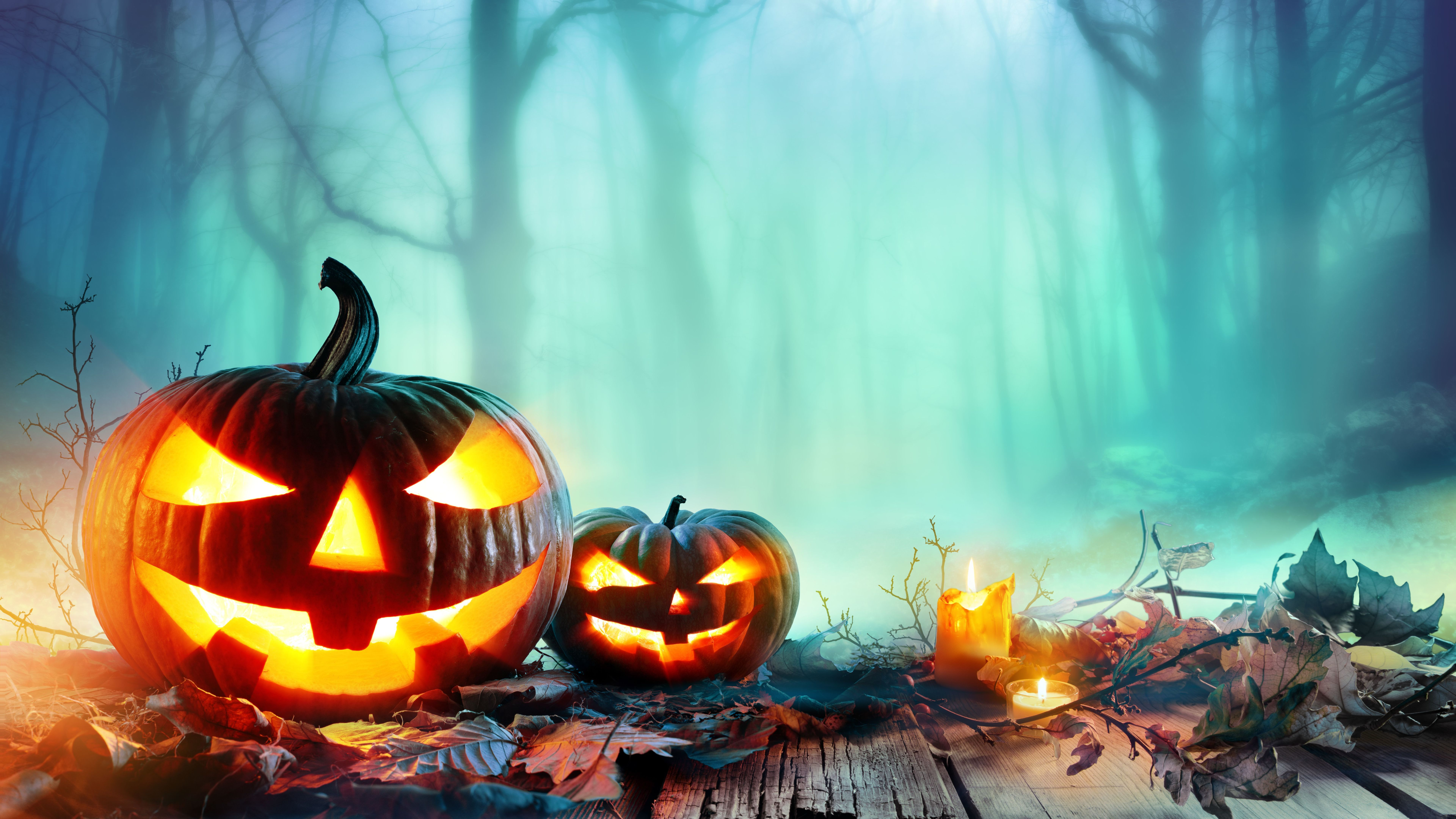8k Halloween 8k Hd 4k Wallpaper   Data-src /full/966128 - Halloween Wallpaper 4k , HD Wallpaper & Backgrounds